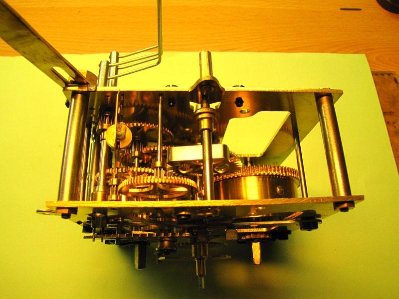 Werkstatt Himbert für Uhren und mehr... Wanduhrwerk nach der Revision