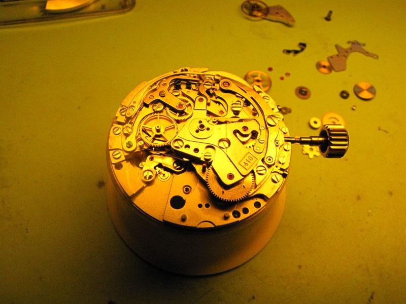 Werkstatt Himbert für Uhren und mehr... Zenith el Primero Cal 410