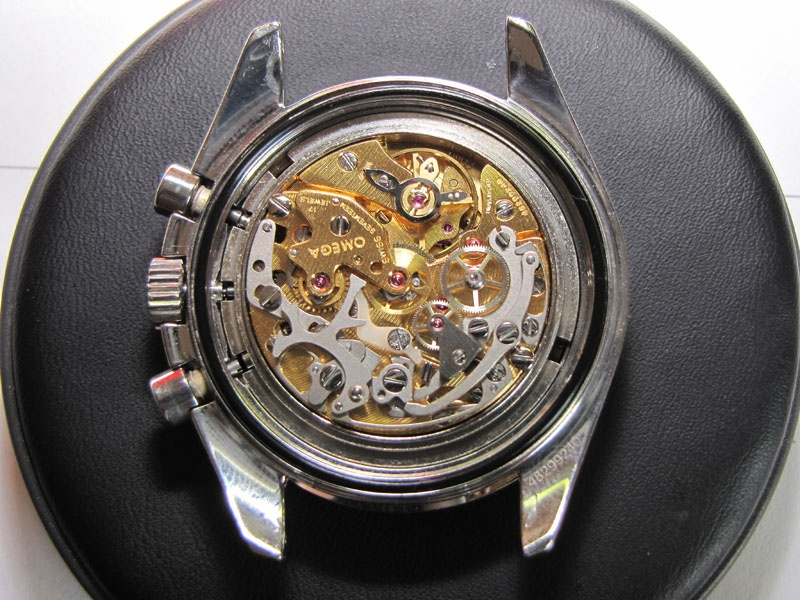 Werkstatt Himbert für Uhren und mehr... Omega Chronograph Handaufzug Cal 861 Service